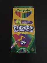 Crayola Erasable Colored Pencils, 24pk - $8.34