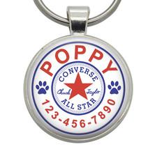 Dog Tag - Converse - Dog ID Tag, Cat ID Tag, Pet ID Tag, Pet Tag, Cat Tag - $19.99