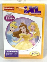 Fisher Price iXL Learning System Disney Princess Game Software Interactive P1-21 - $12.26
