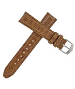 Tag Heuer 18 - 16 mm Brown Lizard Leather Watch Strap Steel Buckle - $169.00