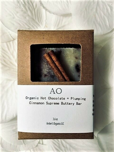 "Primary image for Organic Dark Hot Chocolate + Plumping Cinnamon ""butter me up"" Beauty Bar Vegan!"
