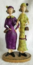 Sandy Gervais IF WE LIVE TO BE 103 BEST FRIENDs... Old Ladies Figurine - $14.95