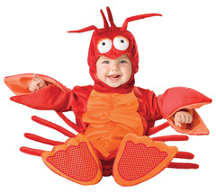Baby Lobster , Infants | Toddlers Costume , Size 12 TO 18 MONTHS , Free ... - $45.00