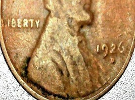 Lincoln Wheat Penny 1926 P, 1926 D and 1926 S AA20-CNP2175 Antique