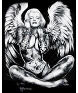 Marilyn Monroe as A Tattooed Winged Lady - $29.99