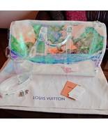 Louis Vuitton Keepall 50 Virgil Abloh Prism BANDOULIERE Bag M53271 YO34 - $4,346.10