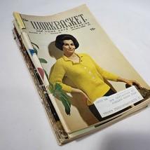 Lot of 8 Vintage Workbasket Home and Needlecraft Magazine 1966 - $8.95