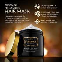 Moroccan oil Restorative Hair Mask 16.9oz (500ml) new - $13.99