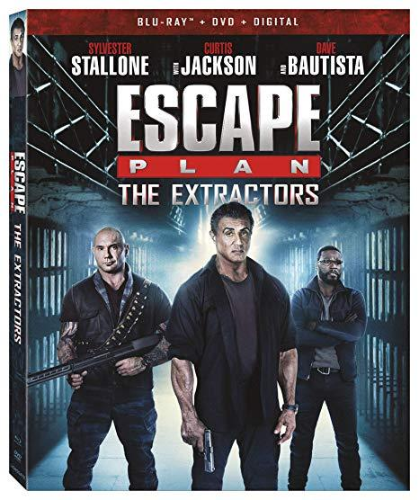 Escape Plan: The Extractors [Blu-ray + DVD + Digital]