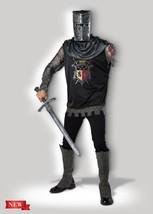 Incharacter Black Knight Medioevale Rinascimentale da Uomo Adulto - €42,74 EUR