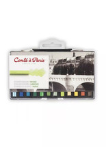 Conte a Paris Artists Colour Pastel Crayons Set of 12 Landscape Colours ... - $19.11