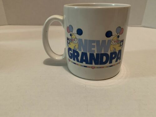 Primary image for Russ Berrie & Company New Grandpa Coffee Mug Baby Birth