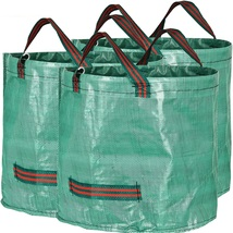 Garden Waste Reusable Bags Yard Clean Up Leaf H... - $27.99