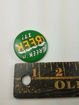 Vintage Hallmark Holiday St Patrick's Day Pin Green 'N Beer It image 3