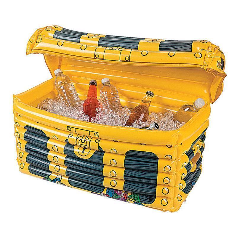 Inflatable Water Pool Ice Bucket Drink Box Swimming Float Summer Water Pool Toy