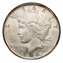 1922-S Silver Peace Dollar $1 (Choice BU Condition) Nice Eye Appeal! - $74.24