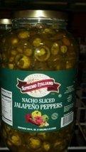 Supremo Italiano: Sliced Jalapeno Peppers 1 Gallon image 3
