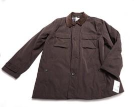 NWT NEW LONDON FOG MENS COAT JACKET Size 2XL XXL Full Zip & Button Front - $134.93