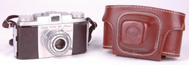 Kodak Pony 135 35mm Film Camera-Model C-with Leather Field Case-Eastman - $23.36