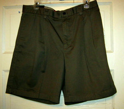 Chaps khaki cotton hiking walking Shorts 34 x 8 NWT - $19.30