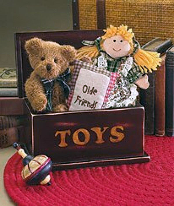 "Boyds Bears ""Toy Box of Friendship and Memories""- Set of 5 LE-#910022-2008Retire"