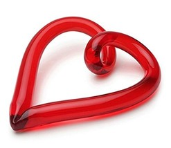 Dynasty Gallery Red Handmade Glass Freedom Heart by - $51.27