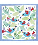 Oopsy Daisy Birds and Blueberries Stretched Canvas Art by Gale Kaseguma,... - $65.84