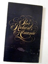 Poor Richard's Almanac by Benjamin Franklin 1976 Sears Roebuck - $0.00