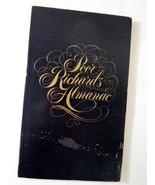 Poor Richard's Almanac by Benjamin Franklin 1976 Sears Roebuck - Freebie