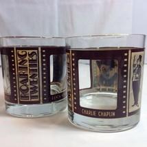 Roaring Twenties 20s Cocktail Peekaboo Glass Chaplin Pickford Silent Fil... - $34.16