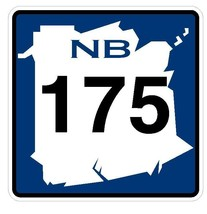 New Brunswick Route 175 Sticker Decal R4804 Canada Highway Route Sign Canadian - $1.45+