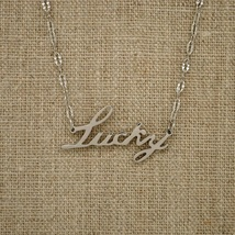 NEW CHARM NECKLACE, LUCKY Pendant Chain. - $6.90