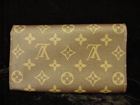 Authentic Louis Vuitton French USA Wallet Bag Coin Purse