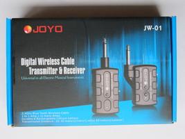 JOYO JW-01 Rechargeable 2.4Ghz Audio Wireless Digital Guitar Transmitter... - $65.00
