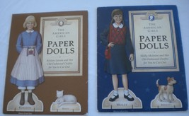 American Girl Doll Paper Dolls  Kirsten and Molly 1992 - $14.00