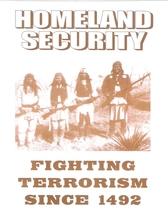 Homeland Security 1492 Vintage 8X10 Sepia Native American Memorabilia Photo - $4.99