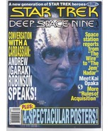 Star Trek Deep Space 9 DS9 COLLECTION Set of THREE: 1 Magazine and 2 TV ... - $29.99