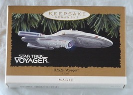 Star Trek Voyager Vintage 1996 Star Trek Christmas Ornament Action Figure NIB - $49.99
