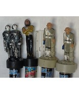 Star Trek Next Generation Figures Candy Tubes Worf, Ferengi, Borg NEW Un... - $29.99