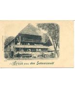 Gruss aus dem Schwarzwald Vintage Post Card - $12.00