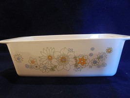 Corning Ware Floral Bouquet Daisy Loaf Pan P-215-B - $9.89
