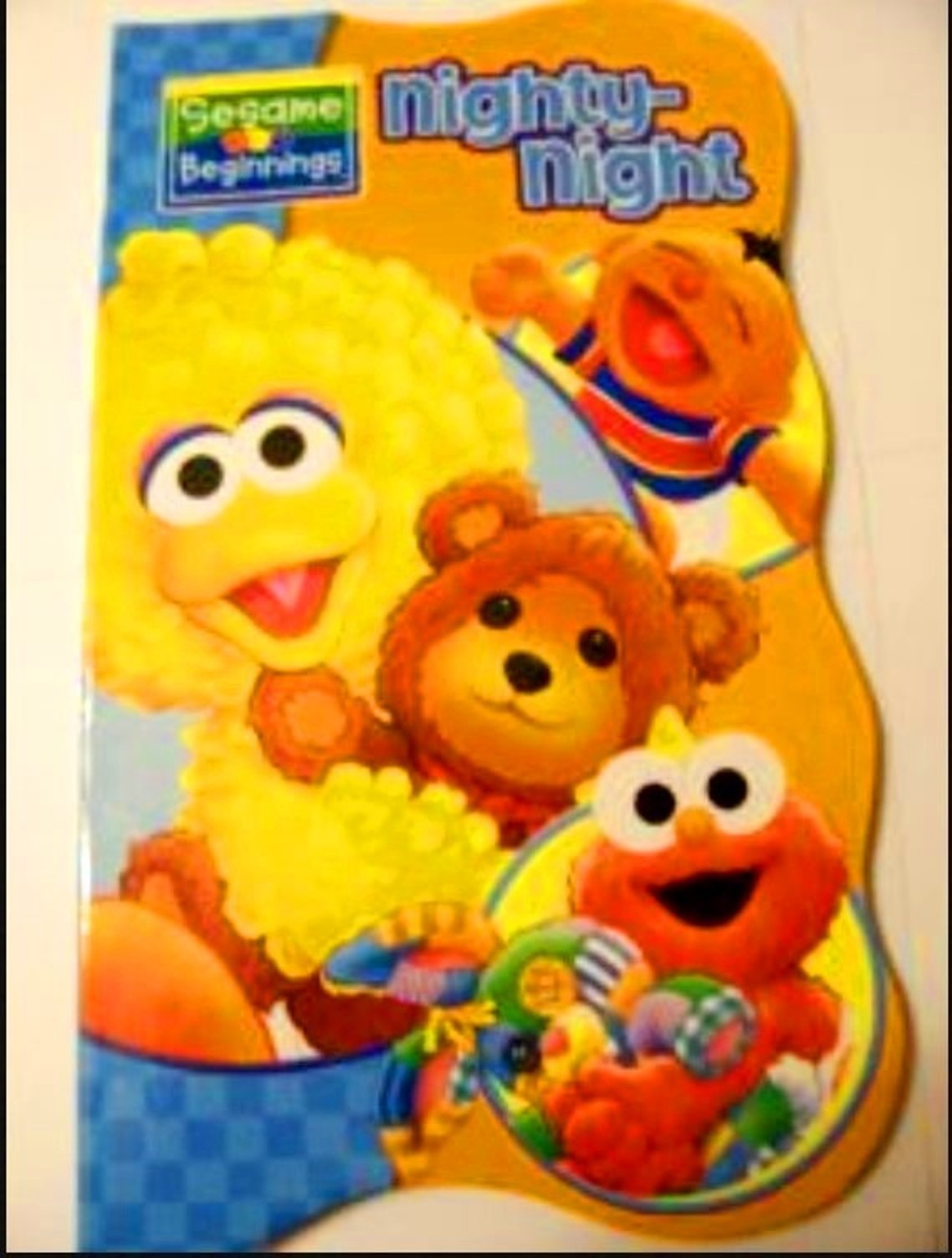 Sesame street nighty night book