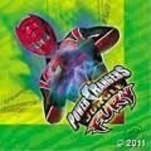 Power Rangers Jungle Fury Party Lunch /Dinner Napkins - $5.89