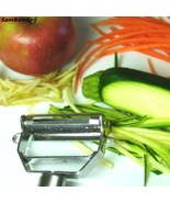 NEW Vegetable Peeler Makes Healthy Zucchini Noodles Includes Free Cleani... - $19.49