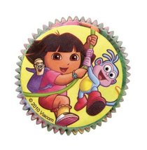 Wilton Dora the Explorer Standard Baking Cups, Pack of 50 - $4.93