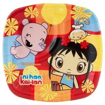 Divided Dessert Plates | Ni Hao Kai Lan Collection | Party Accessory - $5.89