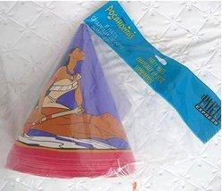 Pocahontas Party Hats Birthday Decoration Supplies x8 India - $10.84