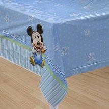Disney Babies Mickey 1st Birthday TABLECOVER Shower - $14.80