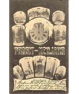 Prosit Neujahr 1905 Vintage Hamburg Germany 1905 Post Card  - $10.00