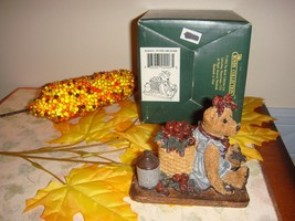 Boyds Bears Bearstone Bailey.. In The Orchard, 02006, 24E/3233 Cute For ... - $16.99